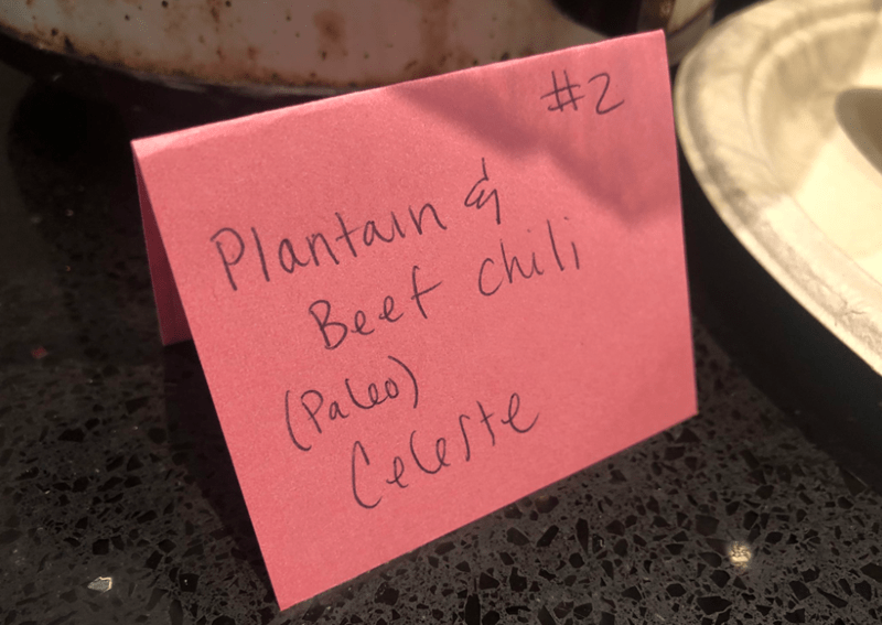 Pink - Plantain Beet chili (Pa les) Celaste