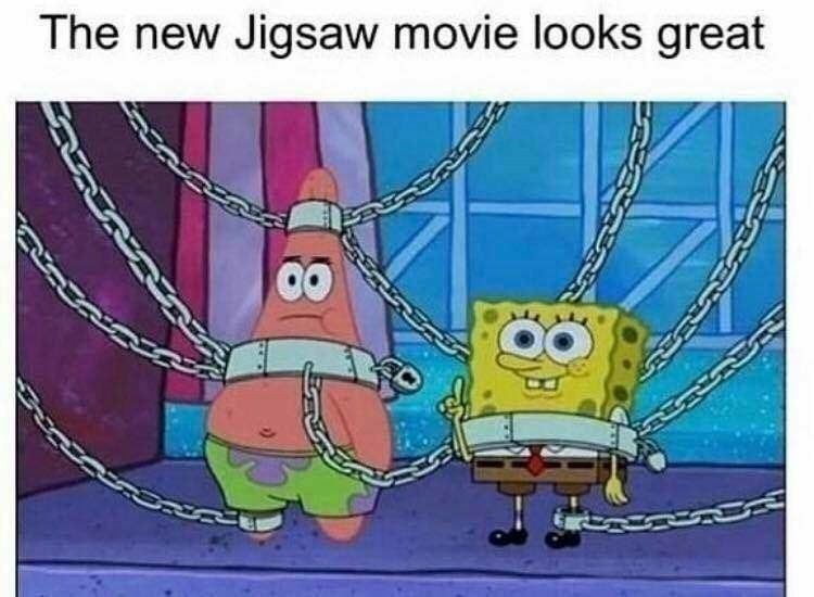 Cartoon - The new Jigsaw movie looks great