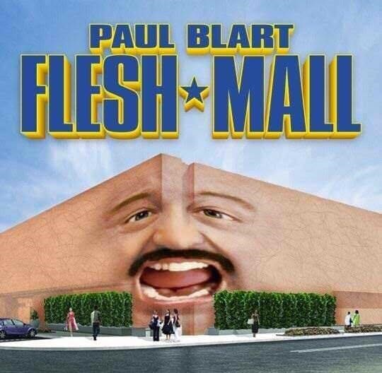 Forehead - PAUL BLART FLESH MALL