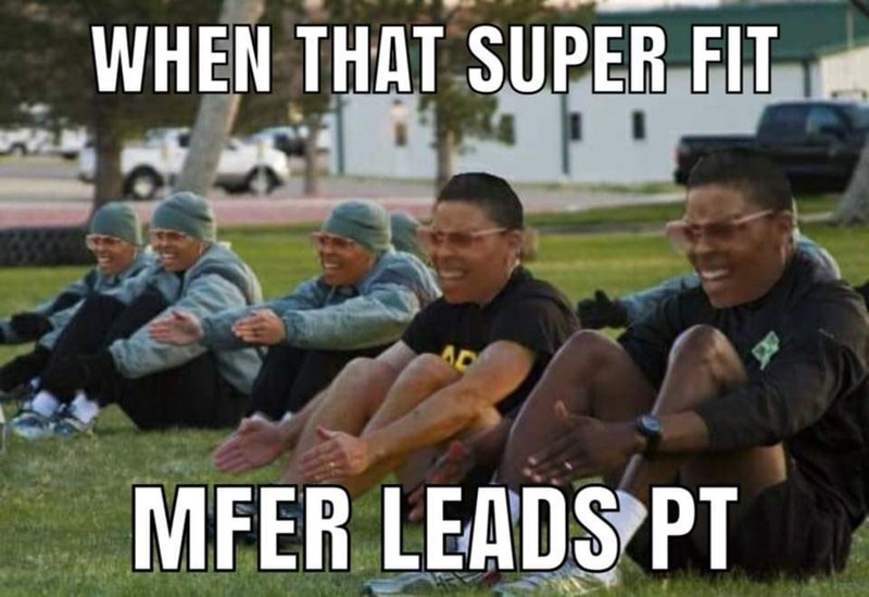 People - WHEN THAT SUPER FIT AD MFER LEADS PT