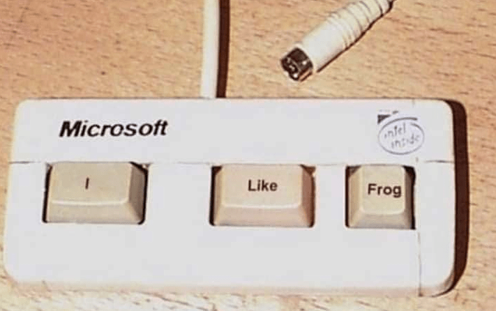 Text - Microsoft ntel Like Frog