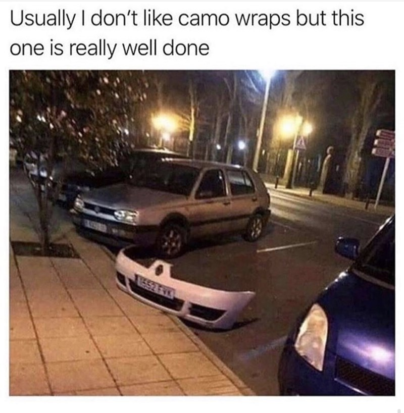 Vehicle - Usually I don't like camo wraps but this one is really well done