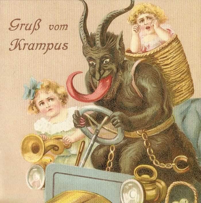 Illustration - Graß Krampus vom