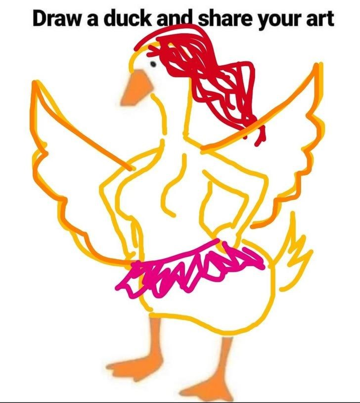 Beak - Draw a duck and share your art