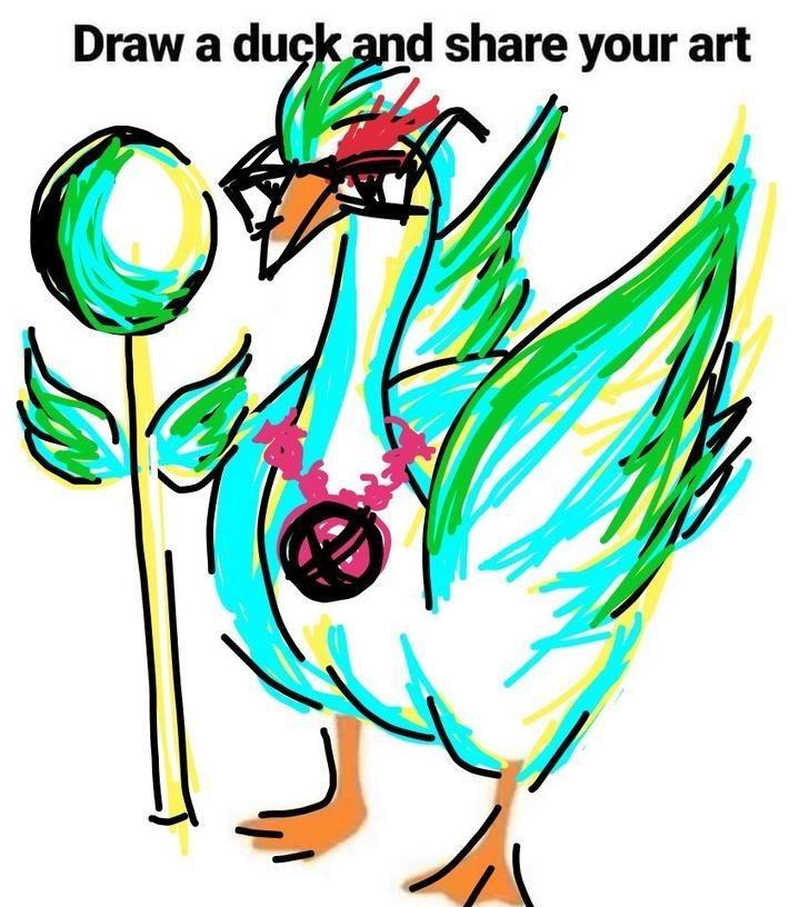 Clip art - Draw a duck and share your art
