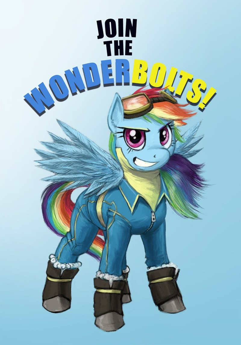 wonderbolts core values rainbow dash - 9392979456