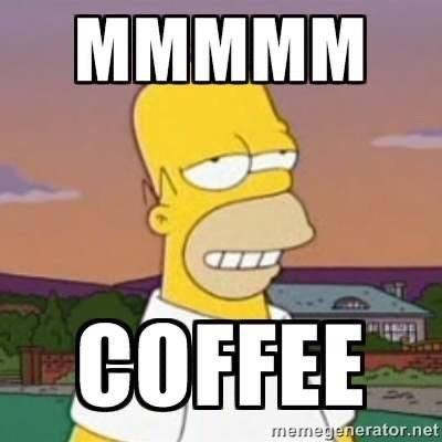 Cartoon - МММММ COFFEE memegenerator.net