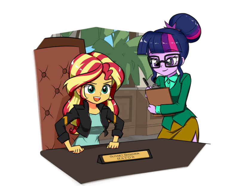 equestria girls scitwi twilite-sparkleplz twilight sparkle sunset shimmer - 9393215232