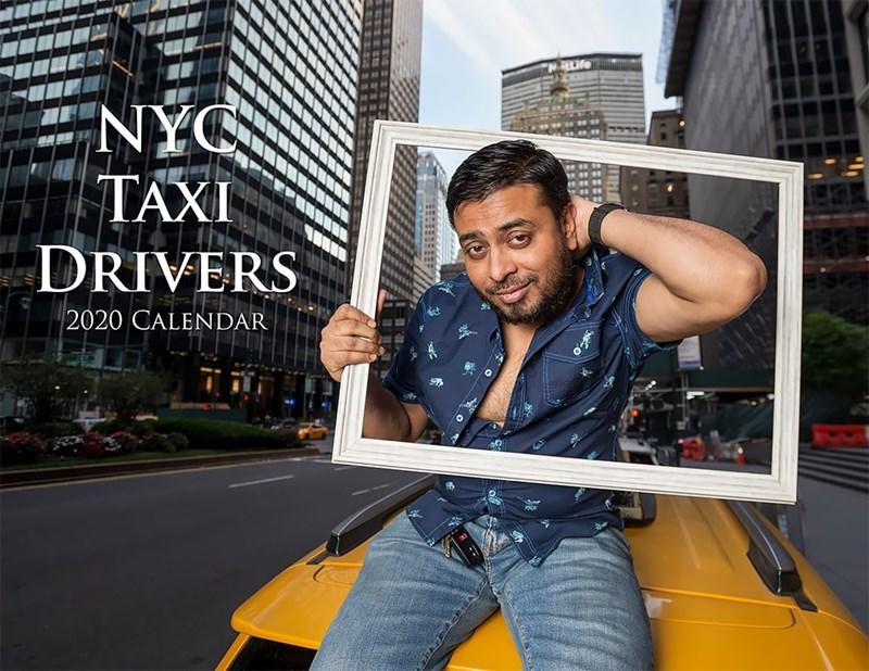 Jeans - NYC TAXI DRIVERS 2020 CALENDAR