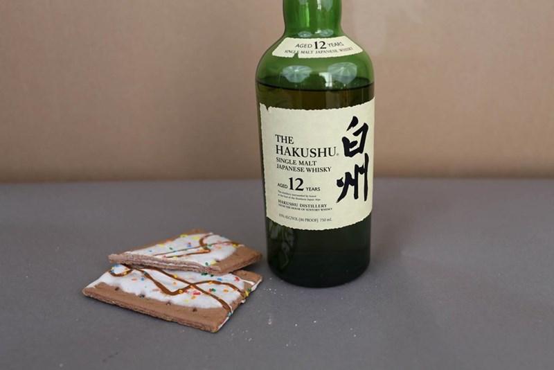 Bottle - AGED 12 YEARS NGLE MALT JAPANESE, w THE HAKUSHU SINGLE MALT JAPANESE WHISKY 12 AGED YEARS MAKUSHU DISTILLERY CVOL (86 PROOF) 750