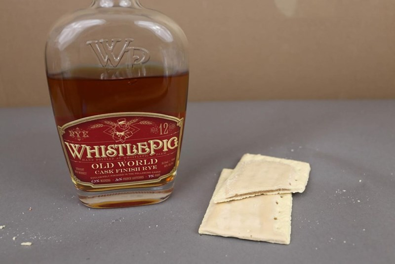 Drink - Wa WHISTBEPIC 1AND BOTTLED WHISTLKPIG FARM OLD WORLD CASK FINISH RYE huen r xCLUSIVELY FINISHED IN THE FOLLOWEING CASKS C3% MDRA 3% FRECH SUTERSES 7%