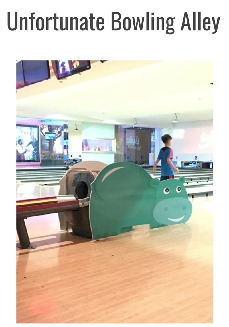 Product - Unfortunate Bowling Alley olua