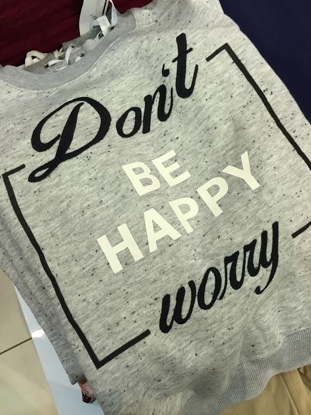 Font - Dont BE HAPPY woy