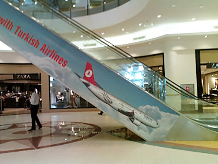 Escalator - with Turkish Airlines ZARA