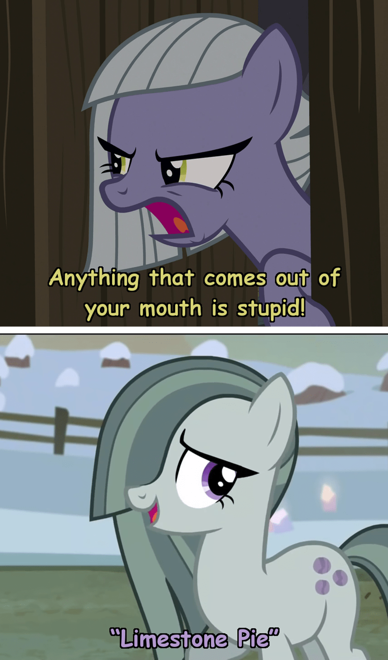 marble pie incorrect my little pony quotes limestone pie screencap - 9394290432