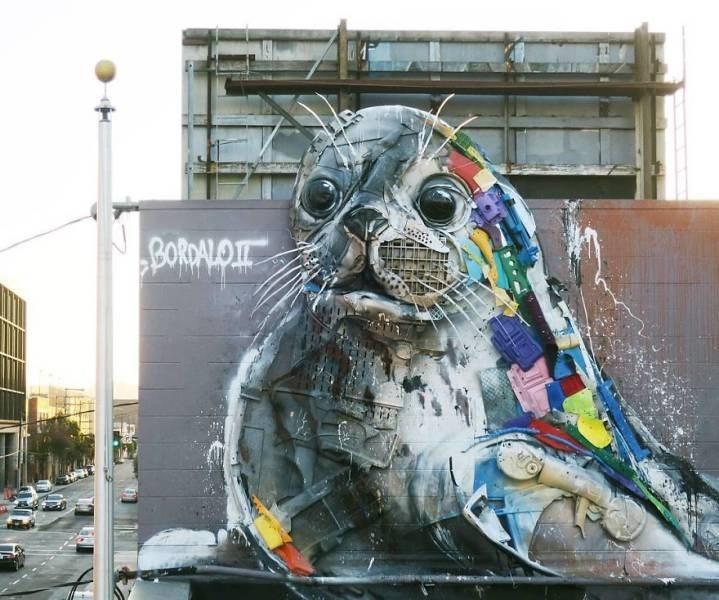 Street art - BORDALOTI