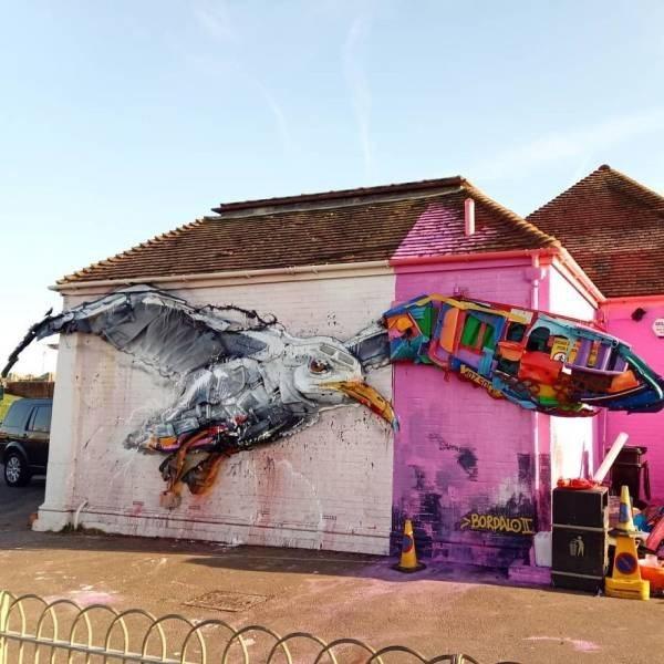 Street art - BORDALO