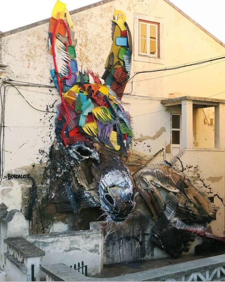 Street art - AE BORDALO th