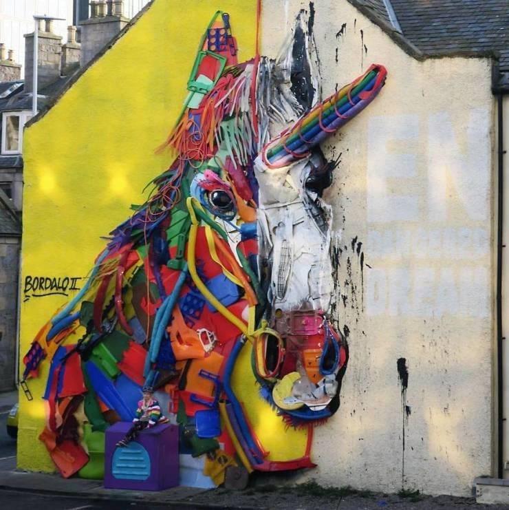 Street art - BORDALO I