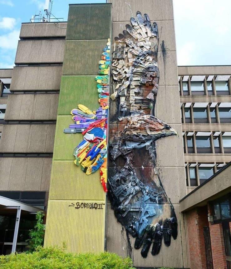 Street art - BORDALOJ