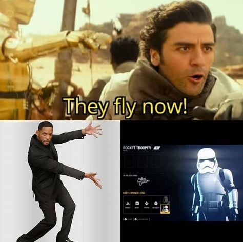 Movie - They fly now! ROCKET TROOPER A