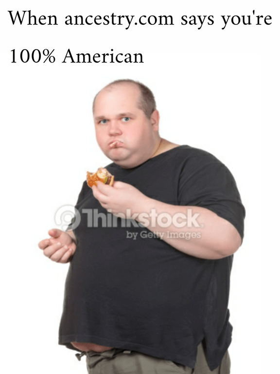 Smoking - When ancestry.com says you're 100% American Thinkstock by Gety Images