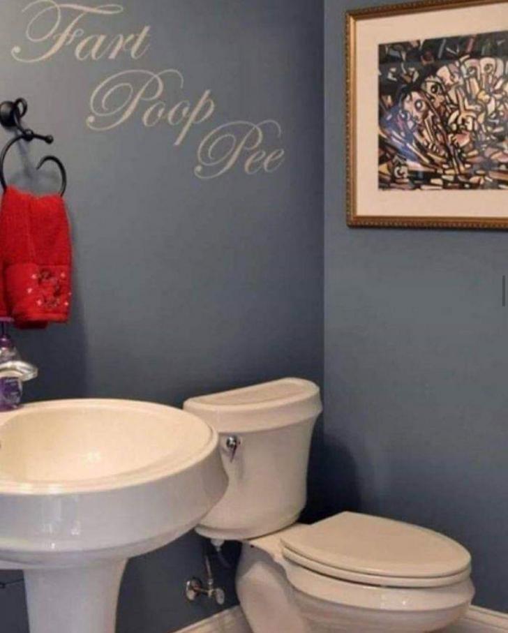 Bathroom - Fart Po Pee