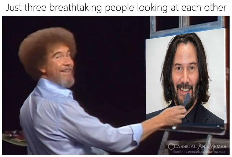 Facial hair - Just three breathtaking people looking at each other CLASSICAL ART MEMES facebook.com/classicalartmemes