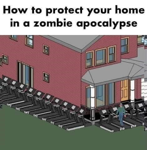 Property - How to protect your home in a zombie apocalypse