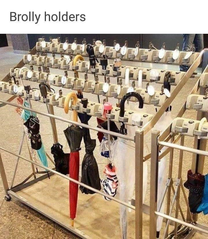 Iron - Brolly holders 0