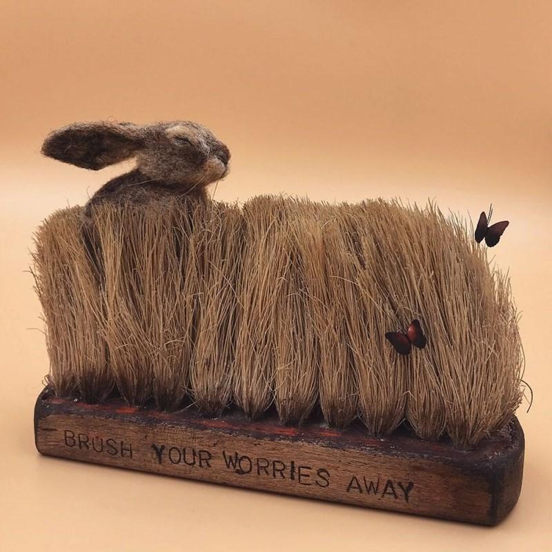 Wool - BRUSH YOUR WORRIES AWAY