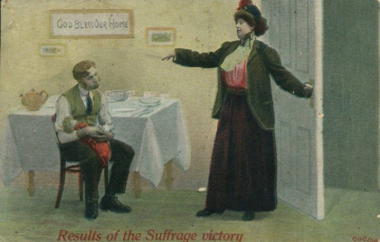 Vintage clothing - Gop BLESSOUR HOME Resulis of the Suffrage victory 698/24