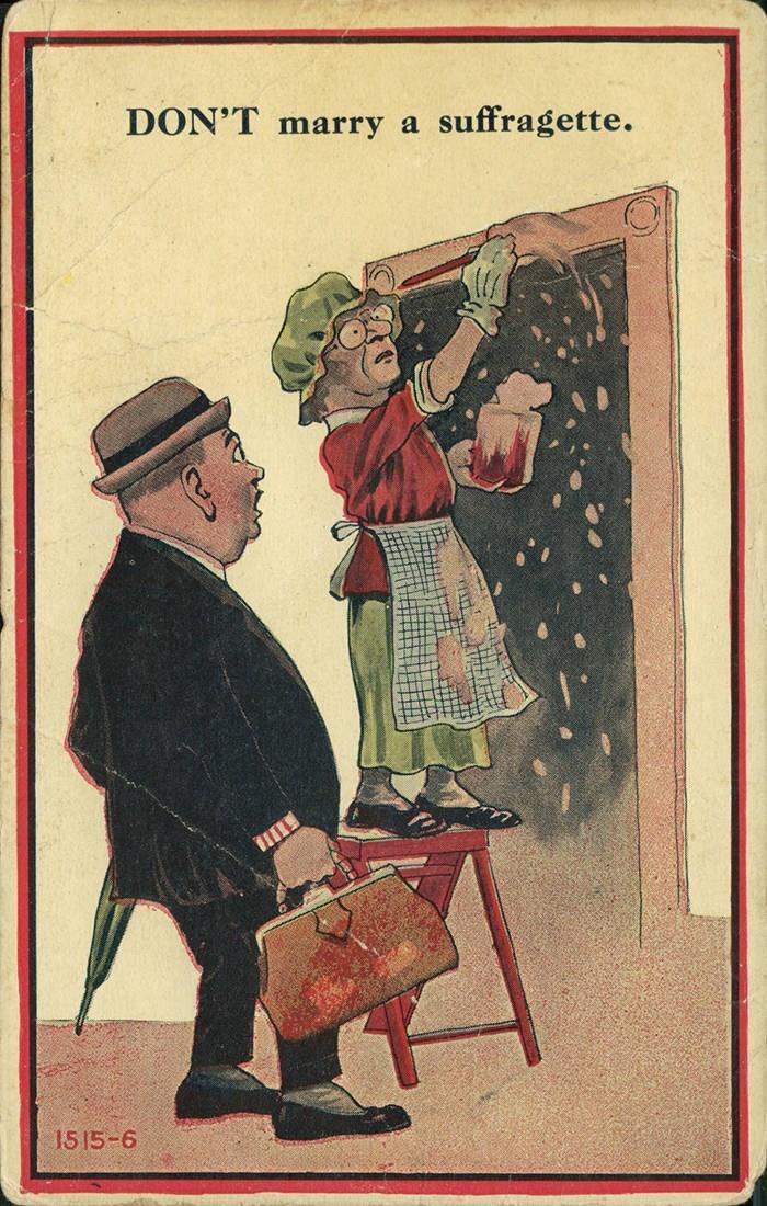 Illustration - DON'T marry a suffragette. 15 15-6