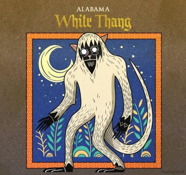 Cartoon - ALABAMA White Thang (41 auingipot