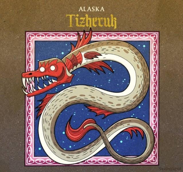 Illustration - ALASKA Tizhecul Sauingipet