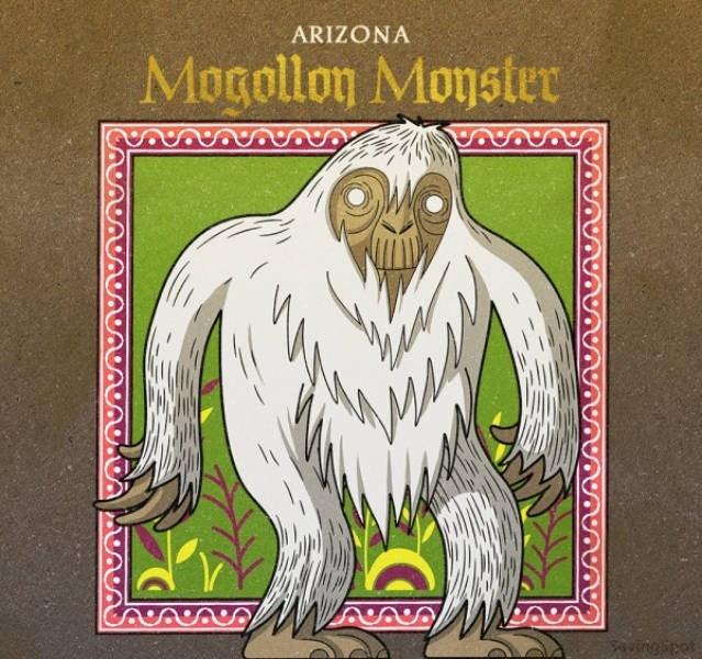 Illustration - ARIZONA Mogollon Monster ungipet