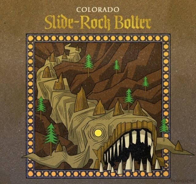 Illustration - COLORADO Slibe-Roch Bolter ngiret
