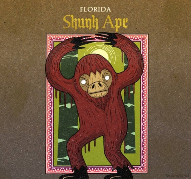 Illustration - FLORIDA Shunlh Ape Aungipet