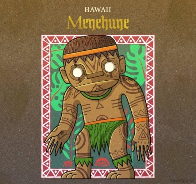 Green - HAWAII Menehune Aungipet