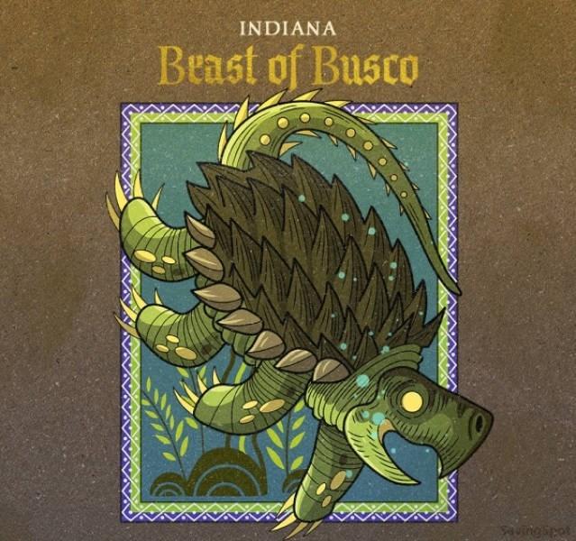 Illustration - INDIANA Beast of Busco Aungipet