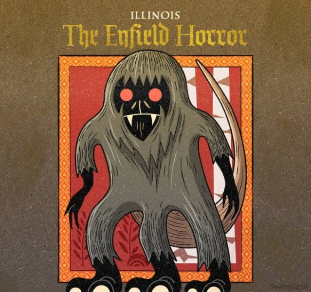 Poster - ILLINOIS The Enfield Horor SAutngipet NO