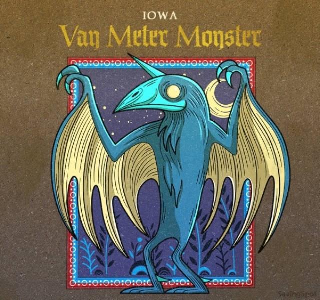 Font - IOWA Van Meter Monster O:O:0:0:O :0:0:0:0:0 O:o:0:0:O:0:0: o:O uingipet OIO:O:00