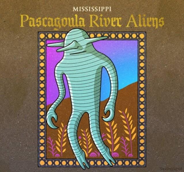 Organism - MISSISSIPPI Pascagoula River Aliens uingipet