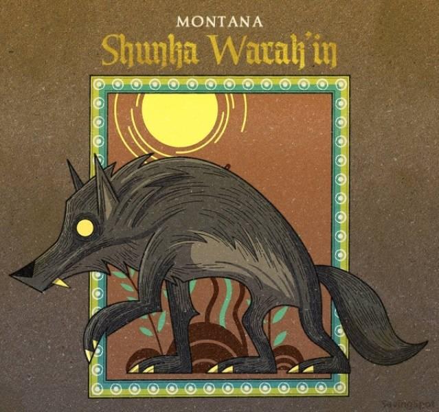 Fictional character - MONTANA Shunha Waralh in Sautngipot
