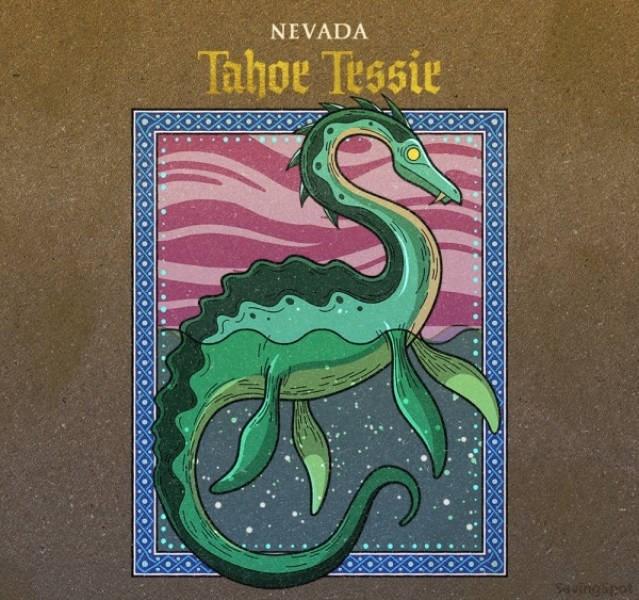 Green dragon - NEVADA Tahoe Tessie uingipet