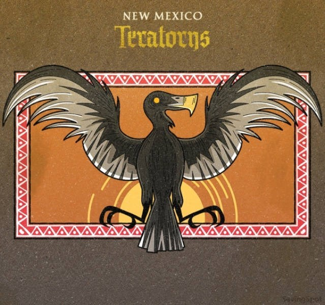 Wing - NEW MEXICO Teratorns uingipet