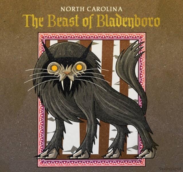 Cat - NORTH CAROLINA The Beast of Bladenboro Sautngipot