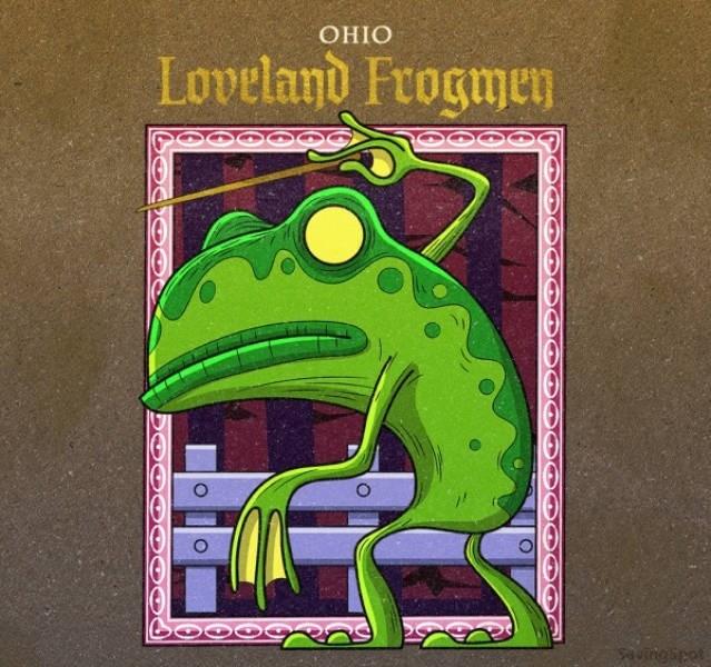 Green - ОНIО Loveland Frogmen uingipet O