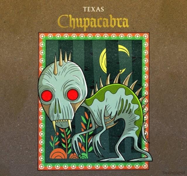 Illustration - TEXAS Chupacabra uingipet