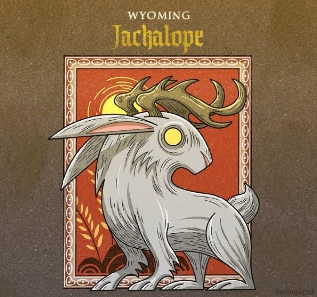 Goats - WYOMING Jachalope uingipet
